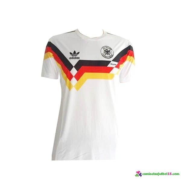 Camiseta 1ª Kit Alemania Retro 1990
